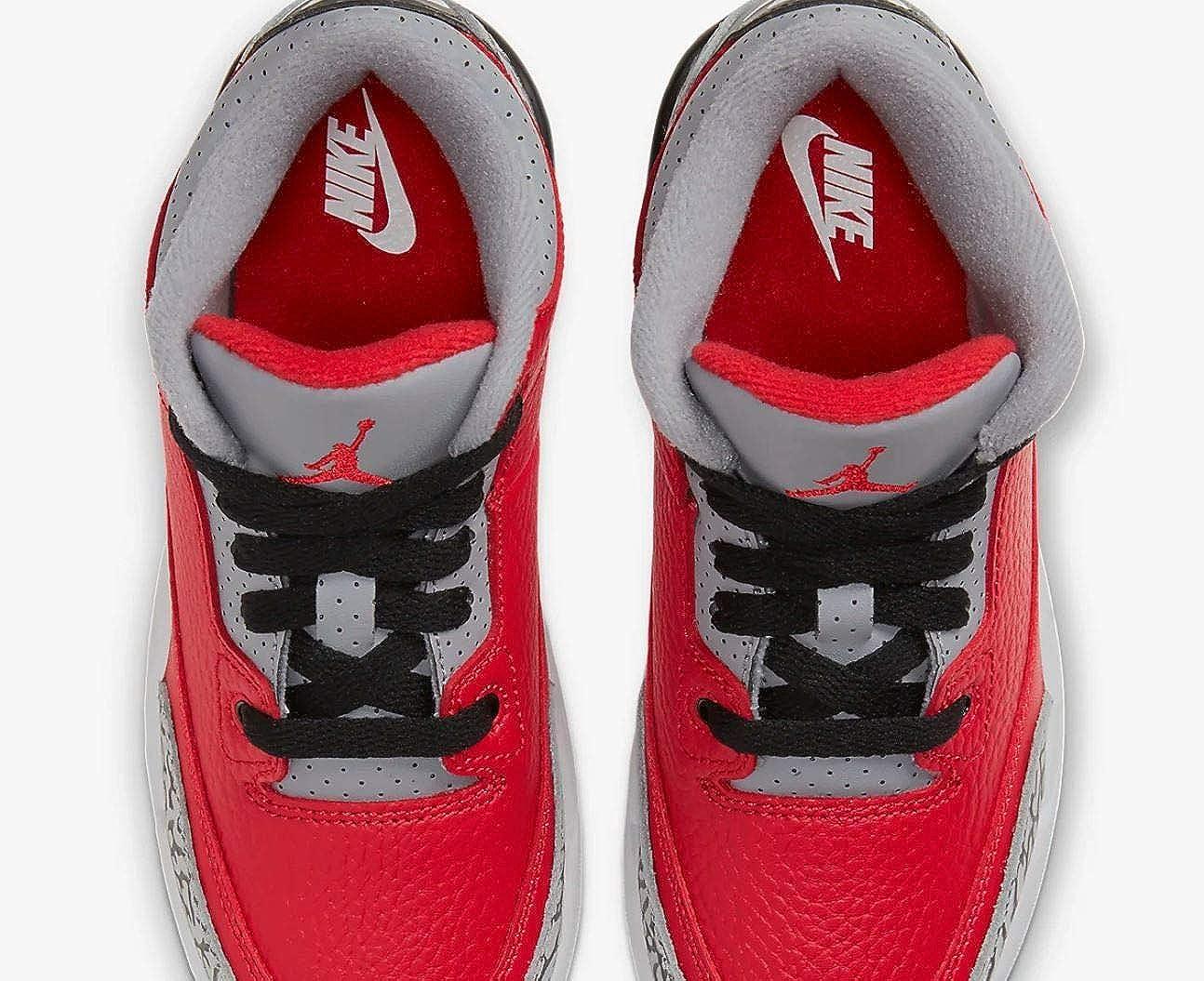 Amazon.com | Nike Jordan 3 Retro Se (ps) Little Kids Cq0487-600 ...