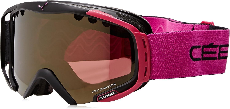 Cebe CBG139 Matte Black Matte Black Hurricane M Visor Goggles Lens Category 3 L
