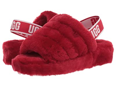UGG Fluff Yeah Slide (Ribbon Red) Women