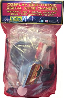 HYTECHTOYZ Batman Helmet Voice Changer Cosplay Toy KIT with Microphone & Speaker - Makes Your Voice Sound Like Batman