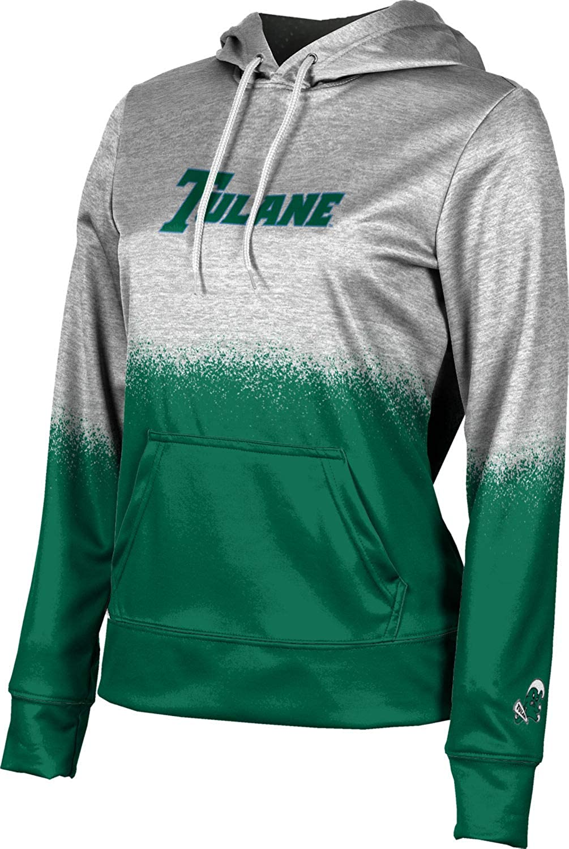 ProSphere Tulane University Girls' Pullover Hoodie, School Spirit Sweatshirt (Spray Over)