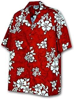 Tropical Shirts White Hibiscus