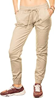Best women's twill jogger pants khaki Reviews
