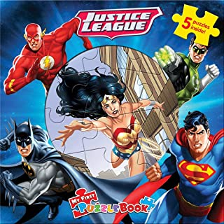 Ravensburger My First Puzzle Book: Dc Justice League