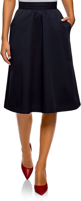 Oodji Ultra Women's Cotton ALine Skirt