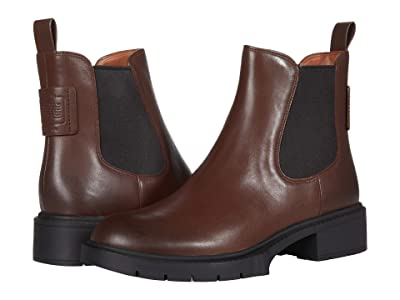 COACH Lyden Leather Bootie Women