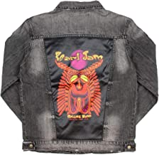 Dragonfly Men's Pearl Jam Rollins Band Music Club Denim Jean Jacket