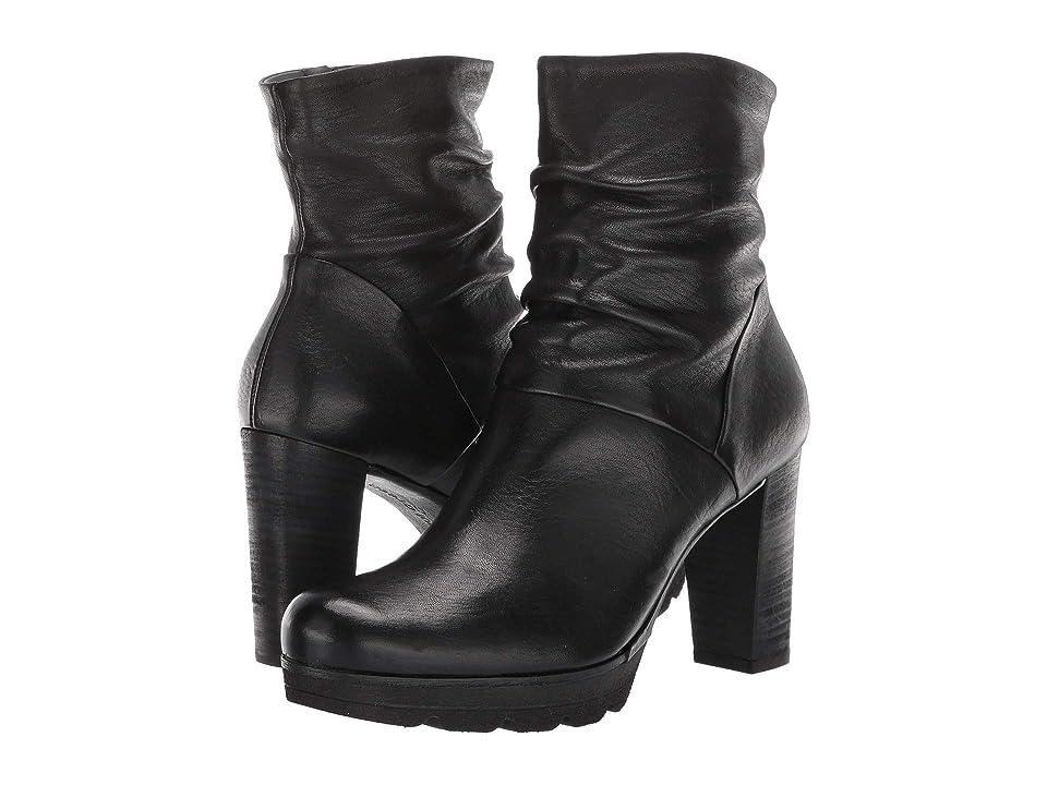 Paul Green Tina Boot (Black Leather) Women