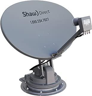 Winegard SK-7003 TRAV'LER Shaw Direct RV Satellite TV Antenna (Stationary, Roof Mount,  Multi-Satellite, Multi-TV, Fully Automatic) - Mount Only, Requires SKA-733 Reflector Kit