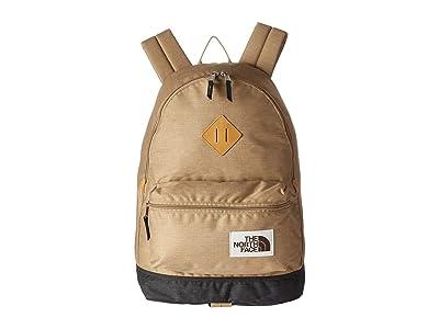 The North Face Berkeley Backpack (Kelp Tan Dark Heather/Asphalt Grey Light Heather) Backpack Bags