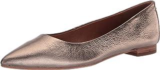 حذاء باليه مسطح للسيدات من Frye ، برونزي