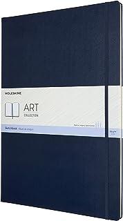 "Moleskine Art Sketchbook, Hard Cover, A3 (11.75"" x 16.5"") Plain/Blank, Sapphire Blue, 96 Pages"