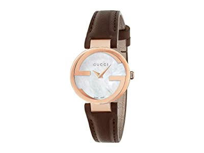 Gucci Interlocking YA133516 (Brown) Watches