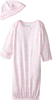 Little Me Girls' 2-Piece Gown & Hat Set