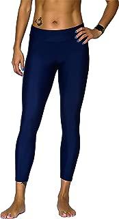 Women's Plus Size Sport Surf UV Protetion Swim Capri Legging