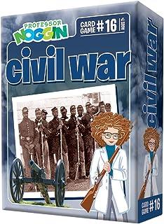 Professor Noggin's Civil War Trivia Card Game - an Educational Trivia Based Card Game for Kids - Trivia, True or False, an...