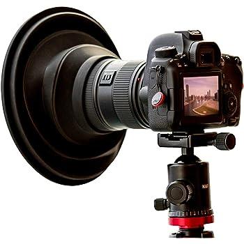 Sony Alpha DSLR-A900 Pro Digital Lens Hood + Nwv Direct Microfiber Cleaning Cloth. Flower Design 72mm