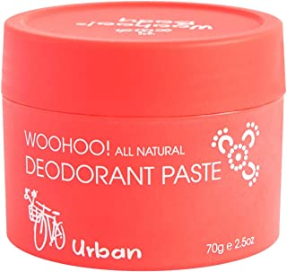 Woohoo! Body All-Natural Deodorant Paste (Urban, 2.5 oz Jar)