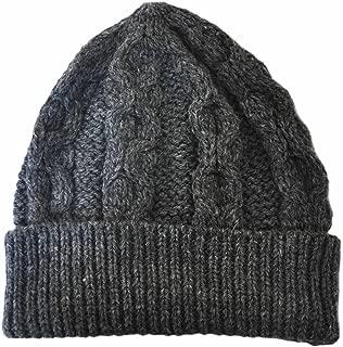 Merino Wool Knit Hat, Charcoal