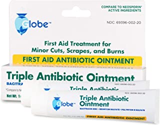 Triple Antibiotic First Aid Ointment, 1 oz. 2-Pack
