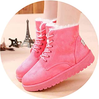2018 Heels Winter Boots Women Ankle Boots Women Shoes Warm Fur Plush Insole Snow Boots