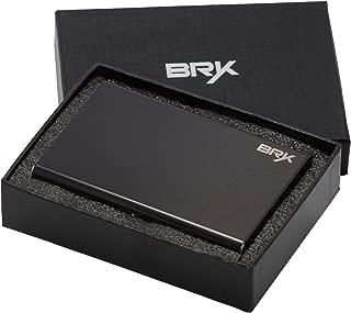 Best RFID Blocking Card Holder Case for Men and Women Slim Stainless Steel Metal Wallet