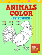 Animals Color By Number: Fun and Educational Animal Coloring Book Designed Especially For Kids Of All Ages