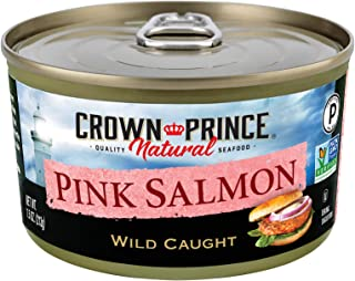 Crown Prince Natural Pink Salmon, 7.5-Ounce Can