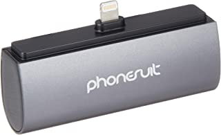 Phonesuit Flex Pocket Charger for iPhone 5 - Retail Packaging - Black