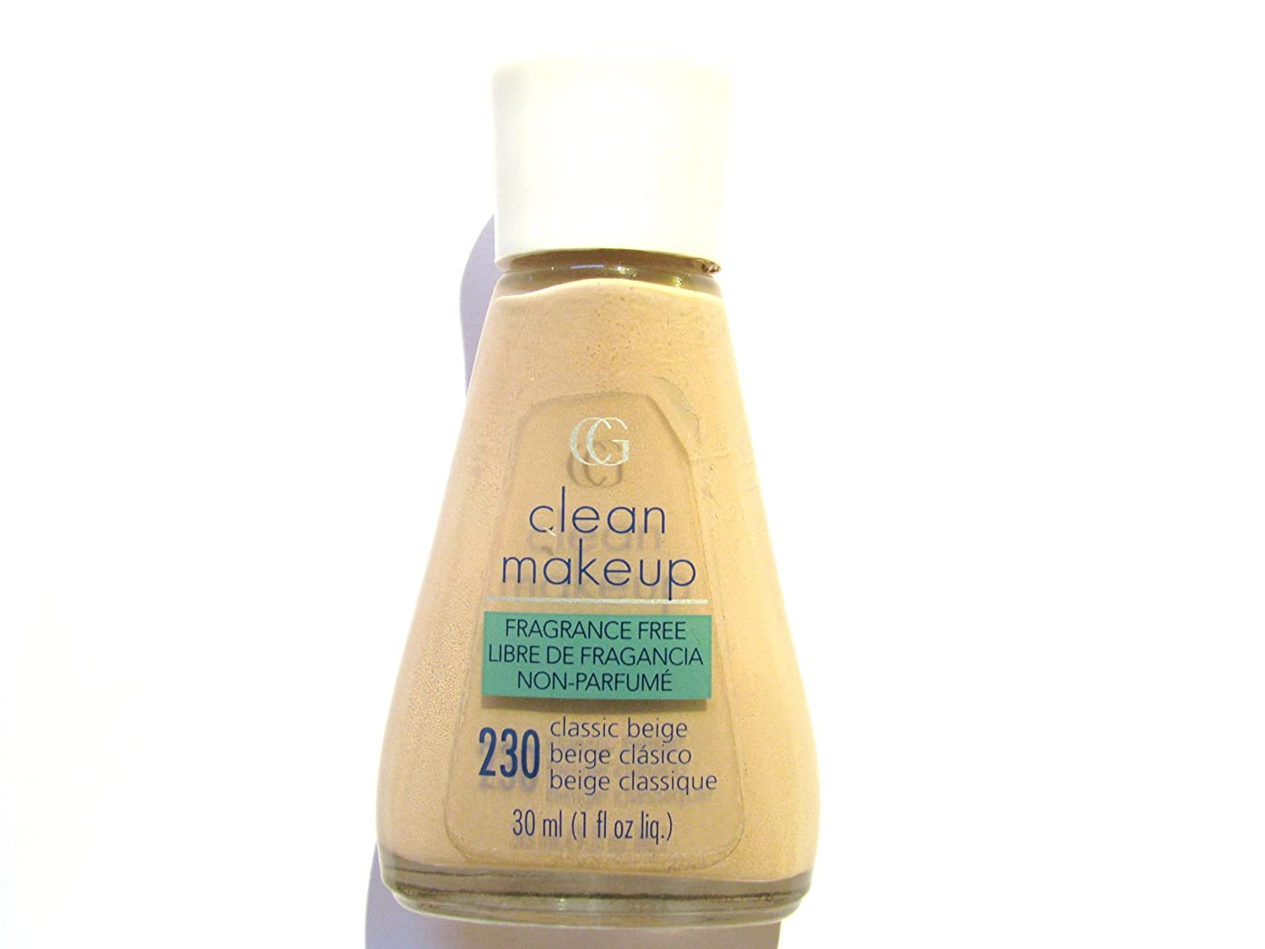 れるそれからお別れCOVERGIRL CLEAN FRAGANCE FREE MAKEUP #230 CLASSIC BEIGE