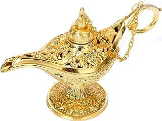 Siumir Lámpara Mágica de Aladdin Metal Genie Lámpara Deseando Lámpara para Cosplay, Hogar Decoration, Regalo