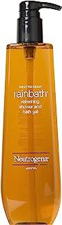 3 Pack Wholesale Lot Neutrogena Rain Bath Refreshing Shower and Bath Gel, 40oz