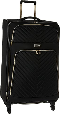 "Chelsea - 28"" Quilted Expandable 4-Wheel Upright Pullman"