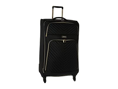 Kenneth Cole Reaction Chelsea 28 Quilted Expandable 4-Wheel Upright Pullman (Black) Luggage