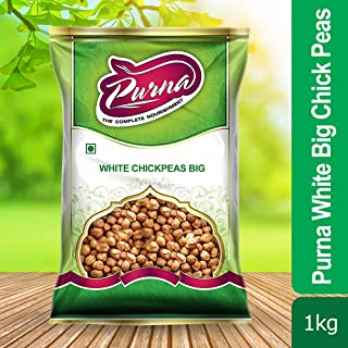 Purna White Big Chick Peas - 1 kg