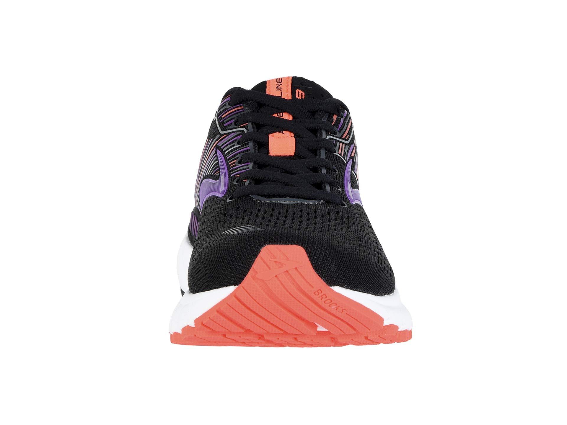 Black purple Gts 19 Brooks Adrenaline coral OZRqC1anw