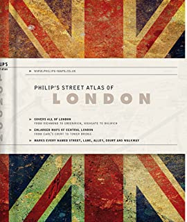 Philip's Gift Edition Street Atlas London - new hardback edition for 2018: De Luxe Edition Union Jack (Philip's Street Atlas)