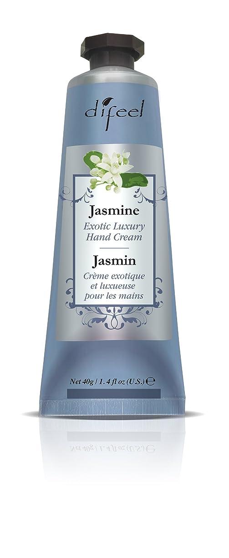 最大の部通知Difeel(ディフィール) ジャスミン ナチュラル ハンドクリーム 40g JASMINE 08JASn New York