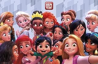 Trends International Disney Wreck Ralph Breaks The Internet-Princess Wall Poster, 22.375
