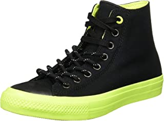 Converse Chuck Taylor All Star II Shield Canvas Hi Black/Volt/Gum Lace up casual Shoes