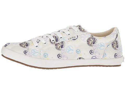 Sale Best Place Buy Cheap Footlocker Finishline Taos Footwear Star Sage/Blue Peace Print Where To Buy 8eFxG