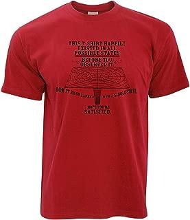 Physics T Shirt Quantum Observer All Possible States
