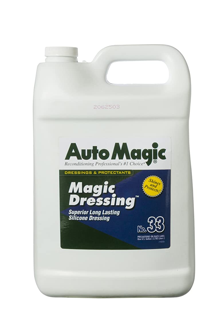 平野発生器フォームAutoMagic(オートマジック) No.33 マジックドレッシング 樹脂?タイヤ用艶出し剤(溶剤系?シリコンを含む) 3.78L a33-3.78