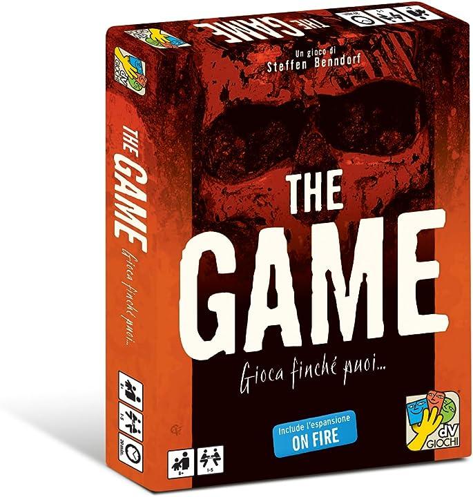 Dv giochi- the game tavolo in cui il gioco è l`avversario da battere, multicolore, dvg9328