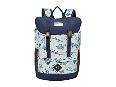 Burton Kids Outing 17L Backpack (Little Kids/Big Kids) (Gone Fishin) Backpack Bags