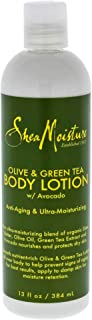 Shea Moisture Olive & Green Tea Body Lotion, 13 Ounce