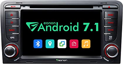 Android Car Stereo Eonon GA8157 Android Head Unit for Audi A3/S3 Android Car Radio 2GB RAM Quad-Core 7 Inch Touch Screen Bluetooth Receiver with HDMI Output and Split Screen-7 Inch