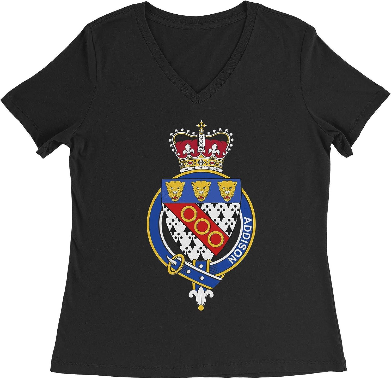 HARD EDGE DESIGN Women's English Garter Family Addison T-Shirt