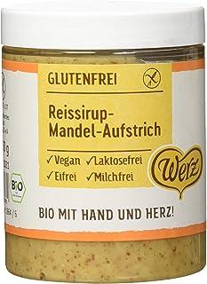 Werz Reissirup-Mandel-Aufstrich glutenfrei, 1er Pack (1 x 30