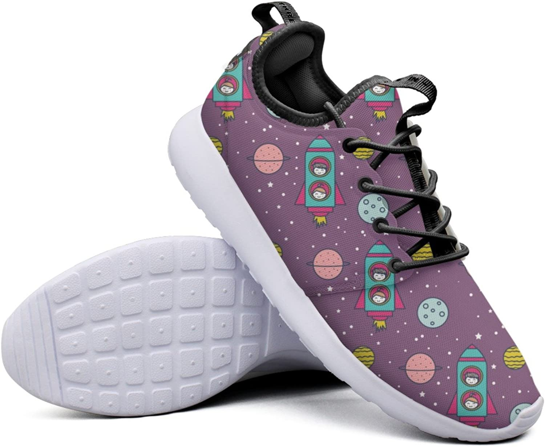 Astronaut Kids-01 Women's Trendy Sneaker Lightweight Mesh Sports shoes